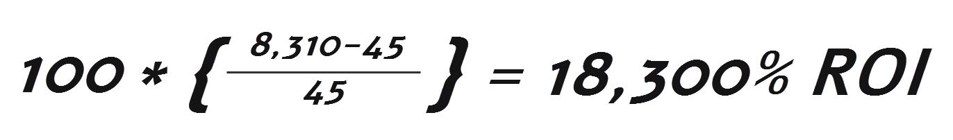 חישוב סופי של ROI